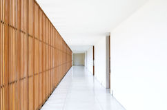Pathway perspective. Space and interior Stock Image