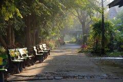 Pathway in Public Park Stock Image