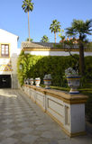 Pathway in the Real Alcazar Royalty Free Stock Photography