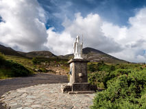 Free Pathway Start With Statue To Croagh Patrick In Westport Ireland Royalty Free Stock Photos - 97525128