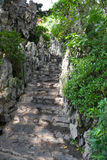 Pathway with stones Royalty Free Stock Images