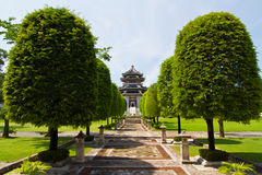 Pathway in Three Kingdoms Park Stock Photography
