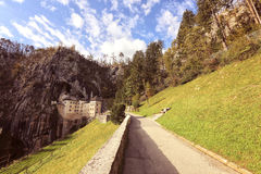 Pathway to a castle Royalty Free Stock Photography