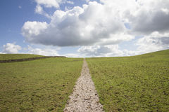 Pathway to the Clouds Royalty Free Stock Images