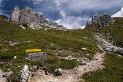 Pathway to Grandlspitz Stock Photo