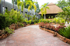Pathway to residential. Royalty Free Stock Images