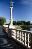 Pathway to Schwerin Castle Stock Images
