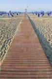 Pathway to the sea Stock Photo