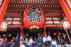 pathway to Sensoji temple Stock Photos