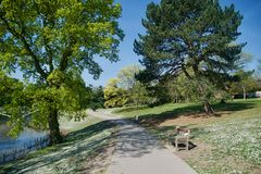 Pathway To The Park Royalty Free Stock Photos
