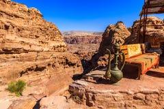 Free Pathway Up To The Monastry At Petra The Ancient City Al Khazneh Royalty Free Stock Photos - 107011838