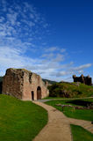 Pathway Up to Urquhart Castle in the Scottish Highlands Stock Photo