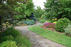 Pathways. Leading through a large garden. Don't get lost Royalty Free Stock Photography