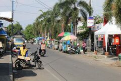 Traditional markets in Central Java, Indonesia