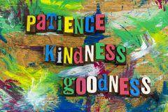 Patience kindness goodness forgiveness. Forgiveness understanding peace patience kindness goodness virtue love joy desire happiness christianity character Stock Image