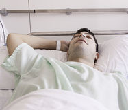 Patient admitted hospital Stock Photography