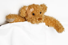 Patient in bed Royalty Free Stock Photo