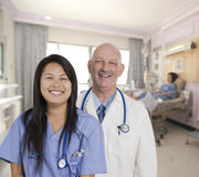 Patient care Stock Image