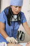 Patient care stock photo