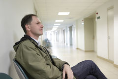Patient in the clinic Stock Image