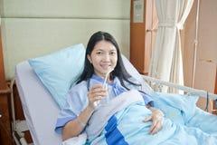 Patient dans l'hôpital Image libre de droits