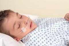 Patient de trauma   Photographie stock libre de droits