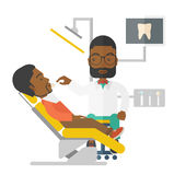 Patient and dentist Stock Photos