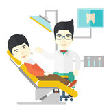 Patient and dentist Stock Image