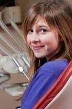 Patient an der zahnmedizinischen Klinik Lizenzfreies Stockbild