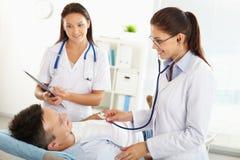 Patient examination Stock Photography