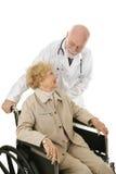 patient förtroende för doktor Royaltyfria Foton