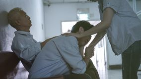 Free Patient Family Waiting For Doctor In Hospital Worry Sad And Stre Stock Image - 128033911
