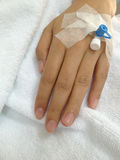 Patient hand Royalty Free Stock Image