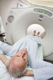Patient Having CAT Scan Royalty Free Stock Image