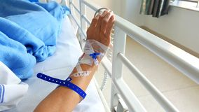 Patient in Hospital Stock Image
