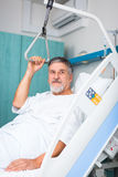 Patient in hospital Stock Photo