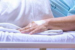 The  patient  in hospital Royalty Free Stock Photos
