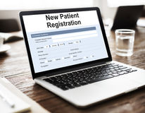 Patient Information Form Analysis Record Medical Concept Royalty Free Stock Photos