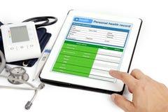 Patient information. Stock Images