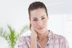 Patient looking at camera Stock Photography