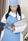 Patient Records Stock Image