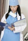 patient register fotografering för bildbyråer
