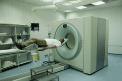 Patient scan Stock Photography