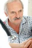 Patient supérieur Photos libres de droits