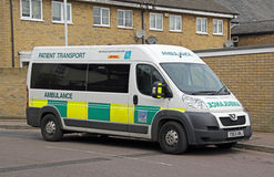 Patient transport ambulance emergency Stock Photography