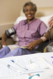Patient Undergoing Chemotherapy Traetment Stock Photo