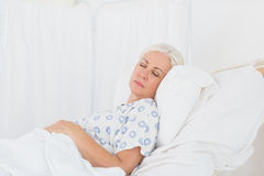 A patient waiting for a doctor Royalty Free Stock Images