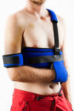 Patient wearing brace Royalty Free Stock Photography