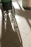 Patient in wheelchair Royalty Free Stock Photos