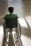 Patient in wheelchair Royalty Free Stock Images
